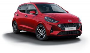 Hyundai i10 Dragon Red