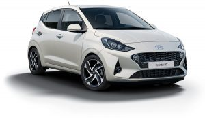 Hyundai i10 Polar White