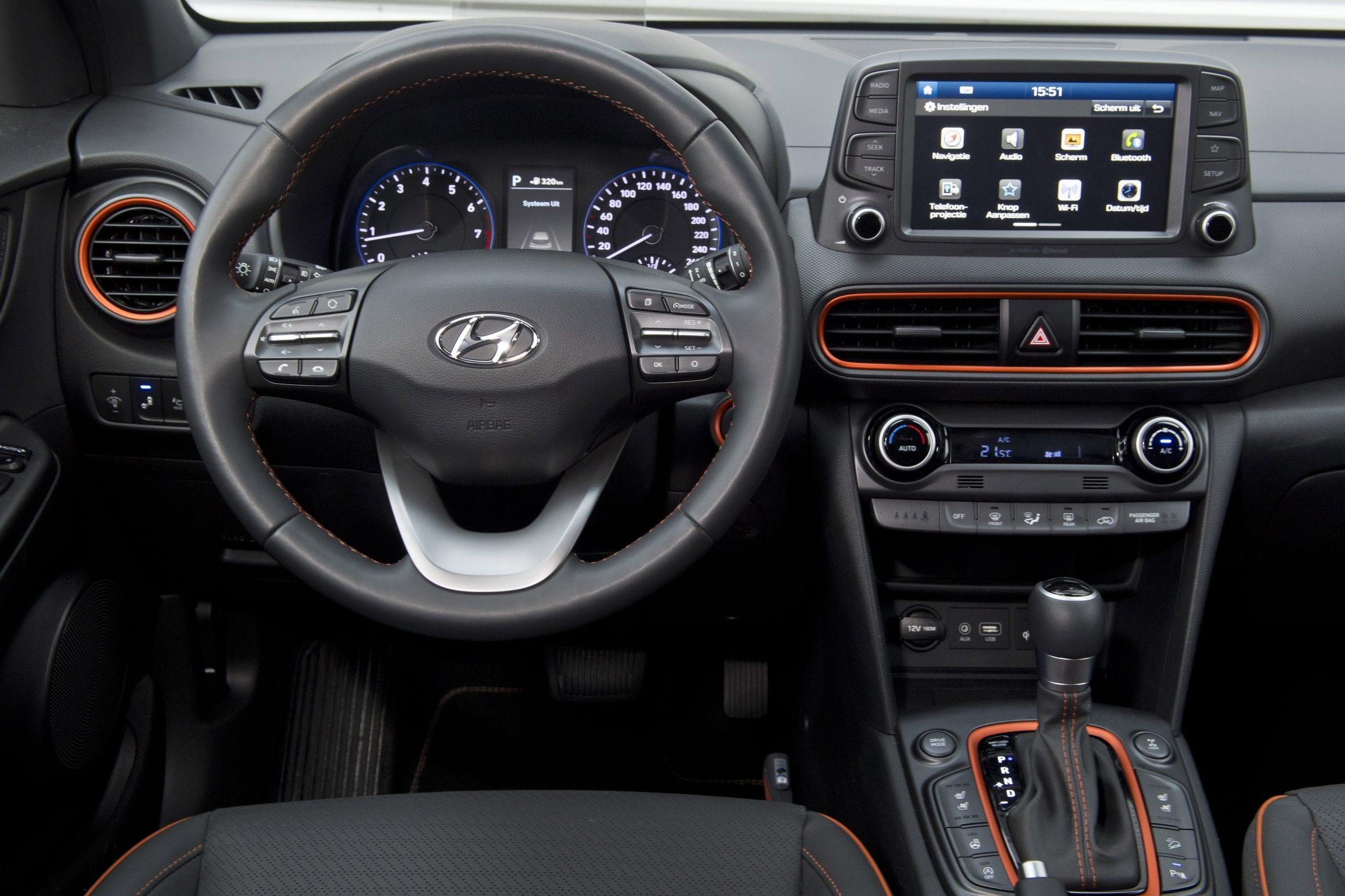 Hyundai Kona interieur