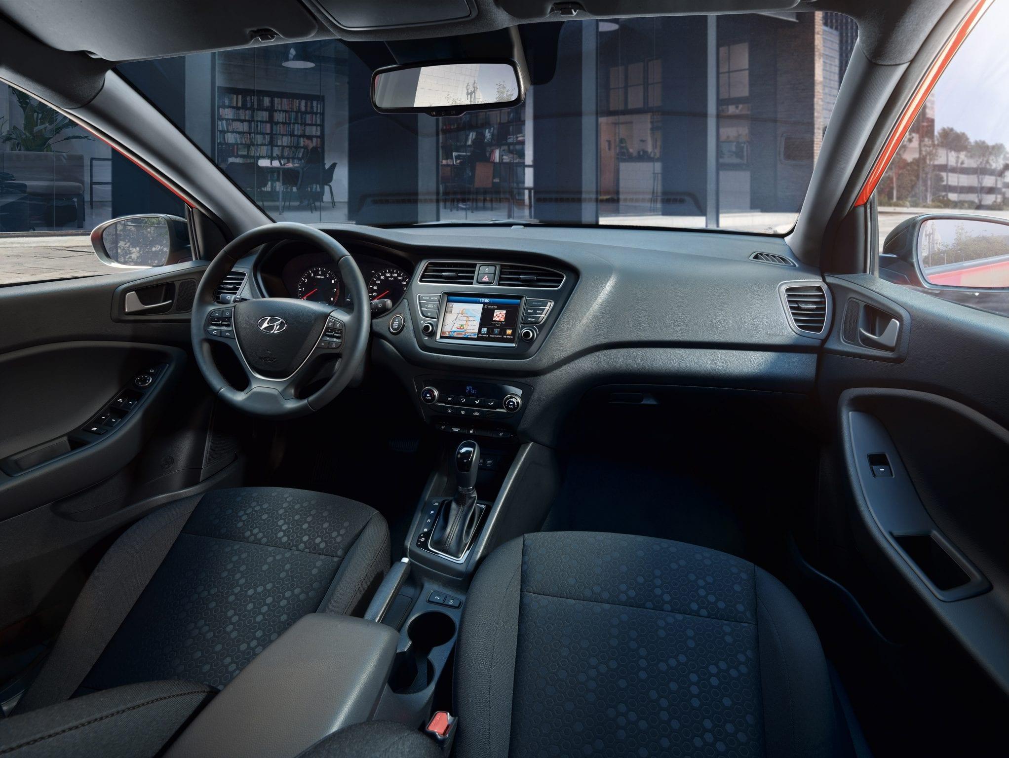 Hyundai i20 interieur