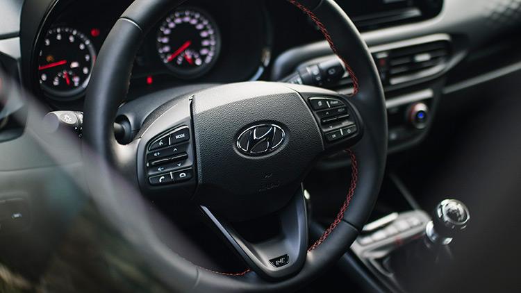 Hyundai i10 N-line dashboard