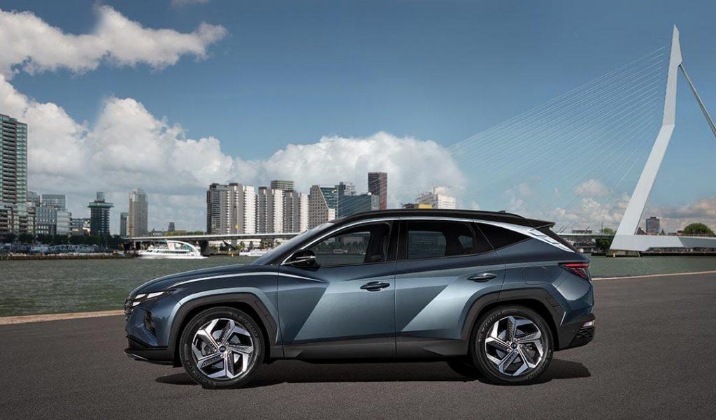 nieuw design Hyundai Tucson