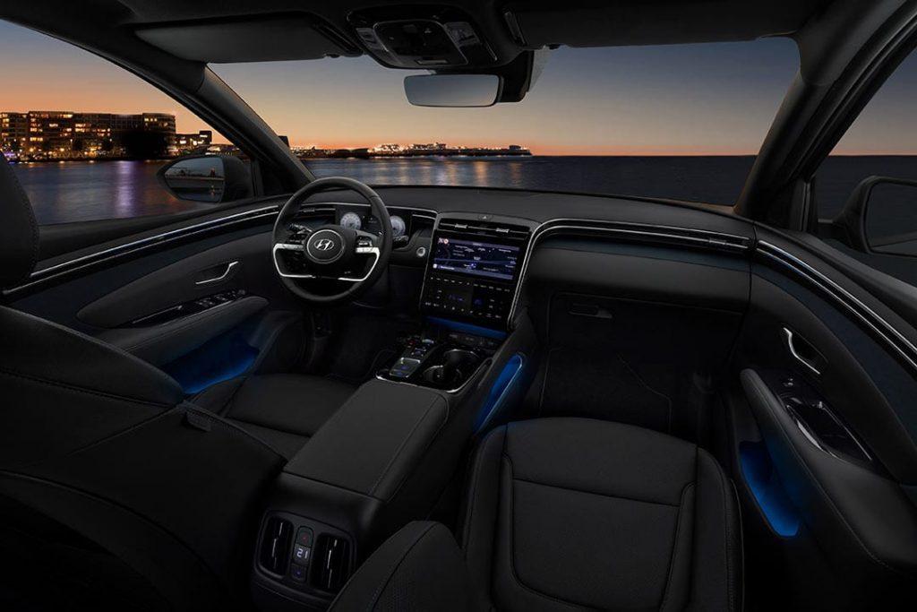 interieur nieuwe Hyundai Tucson