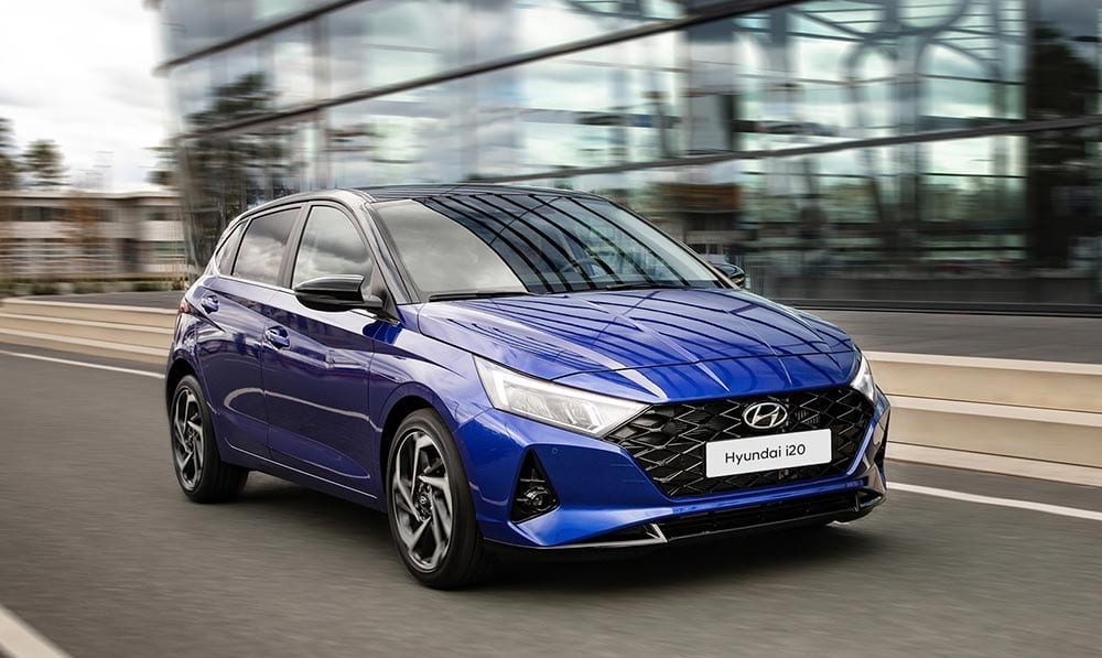 Hyundai i20 - nieuw design