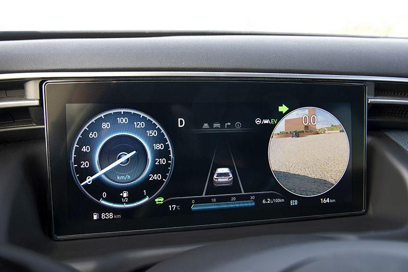 Hyundai Tucson dodehoek controle